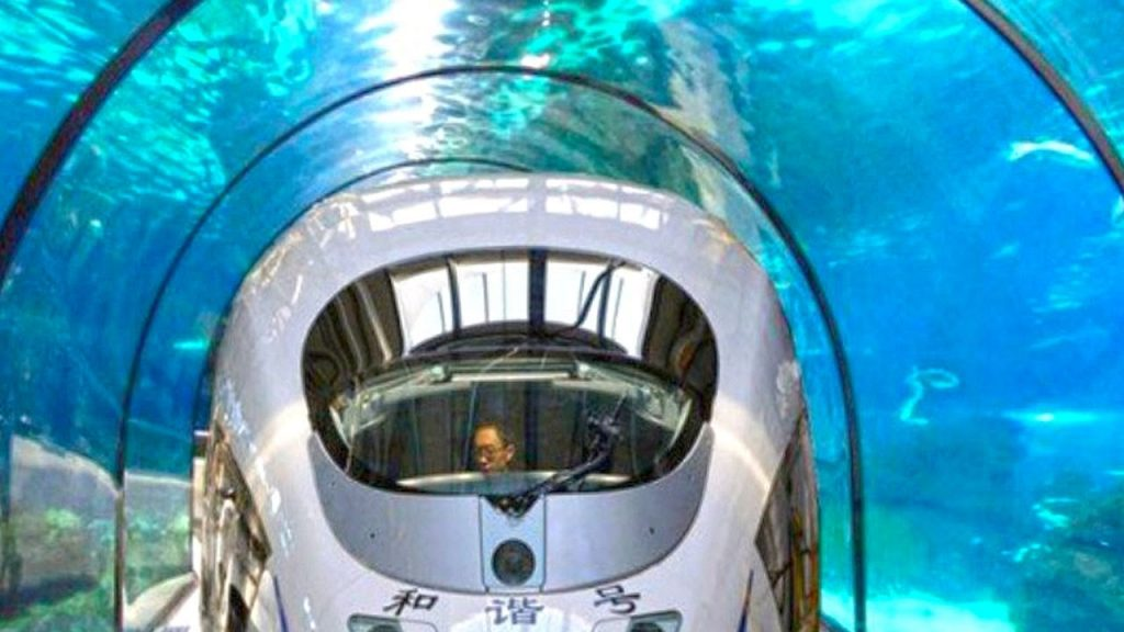 India and UAE are planning to build an underground high speed train speeding through skimming channels under the water and the separation between the two urban communities would be around 2,000 km.