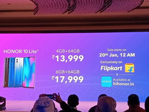 Price of Honor 10 Lite