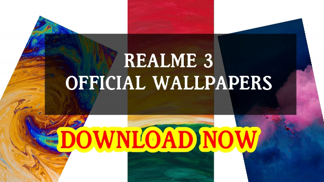 Download realme 3 and realme 3 Pro Wallpapers in High-Quality